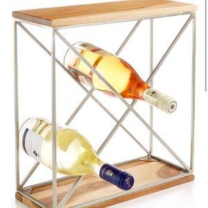 2/$20 Martha Stewart Wooden Wine Rack
